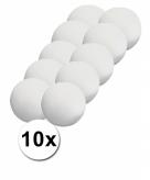 Piepschuimen ballen 7 cm 10 stuks