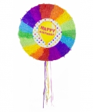 Pinata rond happy birthday 10081718
