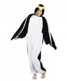 Pinguin onesie dierenpak 180 cm