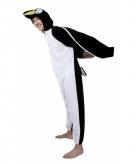 Pinguin onesie dierenpak 195 cm