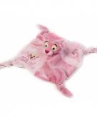 Pink panter baby knuffeldoekje