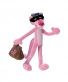 Pink panther verkleed als boef
