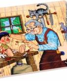 Pinokkio puzzel van multiplex