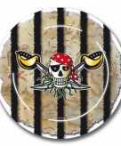 Piraten feest bordjes 16x