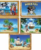 Piratenfeestje muurposters