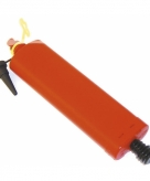 Plastic ballonnen pomp met opzetstuk
