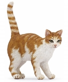 Plastic kat poes speelgoed diertje 5 cm