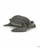 Plastic lederschildpad speeldiertje 9 5 cm