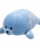 Pluche blauw zeehondje ty beanie baby doodles 24 cm