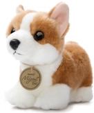 Pluche corgi puppy hond knuffeldier 20 cm