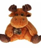 Pluche eland knuffels 20 cm