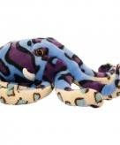 Pluche gekleurde octopus 25 cm