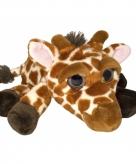 Pluche giraf knuffeldier 33 cm