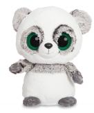Pluche grijze panda knuffeldier 20 cm