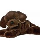 Pluche honden knuffeldier labrador 20 cm