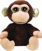Pluche knuffel aapje 12 cm met glitter oren