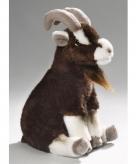 Pluche knuffel zittende geit 23 cm