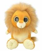 Pluche leeuw knuffeldier 18 cm