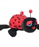 Pluche lieveheersbeestje knuffeldier 21 cm 10082519