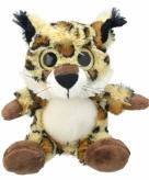 Pluche lynx knuffeldier 21 cm