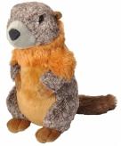 Pluche marmot knuffeldier 30 cm