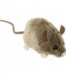 Pluche muizen knuffeltje 12 cm