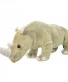 Pluche neushoorn knuffeldier 30 cm