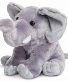Pluche olifantje knuffeldier 25 cm