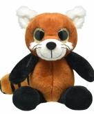 Pluche rode panda knuffeldier 30 cm