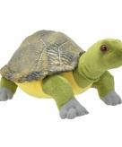 Pluche schildpad knuffeldier 28 cm