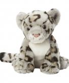 Pluche sneeuw luipaarden 22 cm