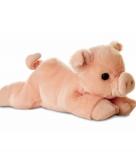 Pluche varken big knuffeldier 20 cm