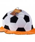 Pluche voetbal hoeden nederland