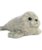Pluche zeehondje knuffeldier 20 cm