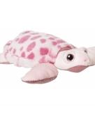 Pluche zeeschildpad knuffeldier 23 cm