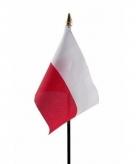 Polen vlaggetje polyester