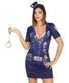 Politie shirt verkleedoutfit voor dames