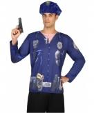 Politie shirt verkleedoutfit
