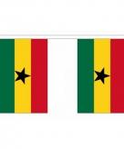 Polyester ghana vlaggenlijn