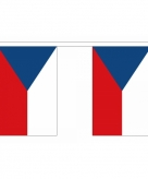 Polyester tsjechie vlaggenlijn