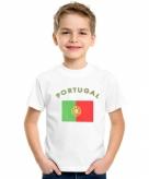 Portugees vlag t-shirts voor kinderen