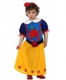 Prinsessen baby carnaval kostuum