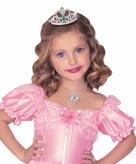 Prinsessen tiara met klemmetje