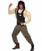 Rambo outfit voor volwassenen
