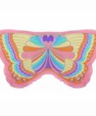 Regenboog vlinder kindervleugels 10089598