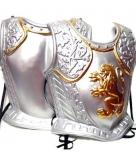 Ridder harnas zilverkleurig