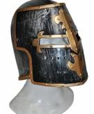 Ridder helm van plastic zwart
