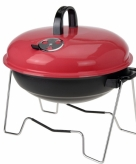 Rode barbecue rond 36 cm