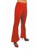 Rode hippie dames broek