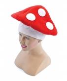 Rode paddenstoel hoed voor volwassenen